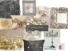 champagne & Grey wedding colour. Other