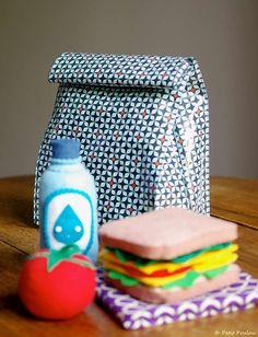 Petit Poulou Lunchbag  DIY : le sac à goûter