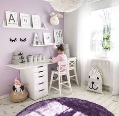 This unique girls room ideas is honestly an outstanding style construct. This unique girls room ideas is honestly an outstanding style construct. Purple Bedrooms, Girls Room Purple, Room Girls, Lavender Girls Bedrooms, Lilac Room, Purple Bedroom Decor, Kids Bedroom Designs, Bedroom Ideas, Tween Room Ideas
