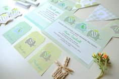 Baby shower tea party decor printables  digital by RubyMayDesign, $20.00