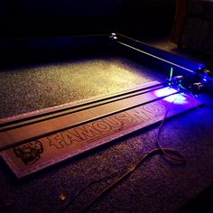 How to create a low cost laser cutter with the amazing Arduino R3 http://www.instructables.com/id/3W-4x4-Arduino-Laser-CutterEngraver/?ALLSTEPS