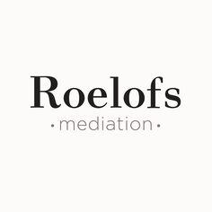 Logo design by Pool of Ideas for Roelofs mediation http://www.poolofideas.nl/huisstijl-ontwikkelen