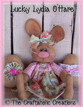 "Lucky Lydia O'Hare - 13 1/2"" doll"