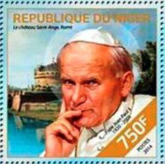 2014 Níger - Canonización del Papa Juan Pablo II