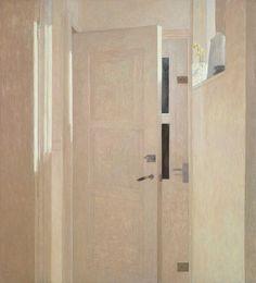 Two Doors - Jan van der Kooi 2011 Dutch painter, Groningen b.1957