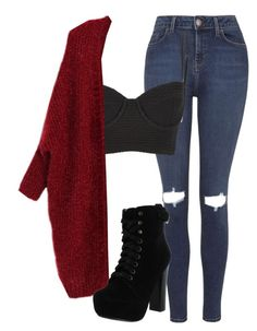 """""""Untitled #92"""" by jayla-gore ❤ liked on Polyvore featuring Topshop, Wildfox and Chelsea Crew"""