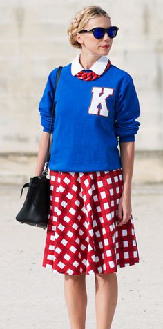 INSPIRATION: Show your team color spirit in every form, this Kansas student did! #KU