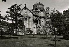 Berlin-Moabit Ruine der Gnadenkirche (Invalidenpark)