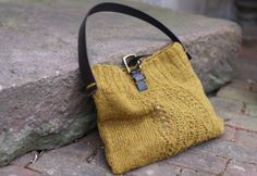 knitted bag.                                                                                                                                                                                 More