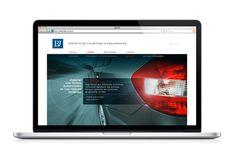 BdJ by Stéphane Monfort, via Behance - Webdesign