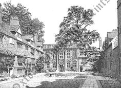 St Edmund Hall Quad (1950)