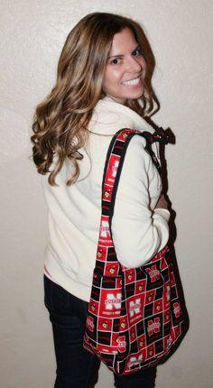 University of Nebraska Husker Cornhuskers hip bag by amourlily 35.00