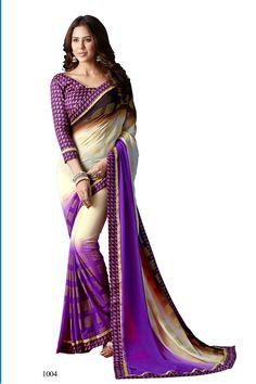 D No 10223 WEIGHTLESS Fancy Designer Saree - http://member.bulkmart.in/product/d-no-10223-weightless-fancy-designer-saree/