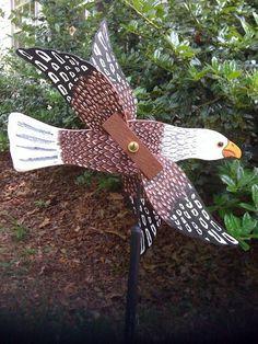 Eagle Whirligig by iWoodcrafts on Etsy