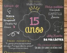 Chalkboard - Aniversário 15 Anos