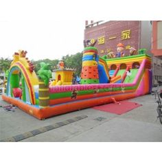 inflatable buddha for sale,inflatable bouncing castle,interesting amusement park