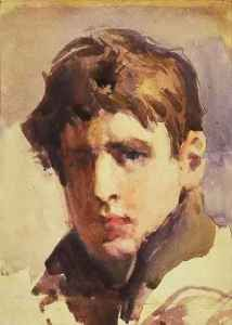 artist penleigh boyd - (1890-1923) self-portrait c1908 Google Search