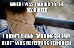 Humps  Marine Corps humor lol