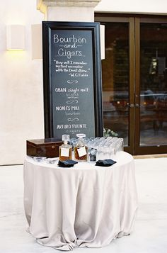 Elegant Garden Wedding At A Montecito Estate Cigar Bar