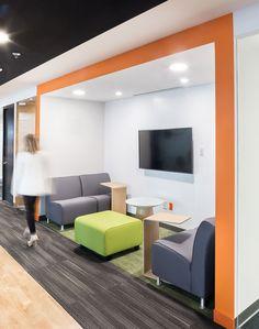 Mobiliario por STEELCASE / Furniture by STEELCASE Alfombra Modular / Modular Carpet  GREEN CHAIR