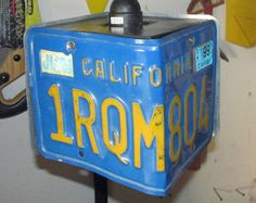 License Plate Pendant Light: Your choice of by ShrubberyAndOre