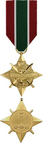 This general service award has been created as a means to recognize - in a timelier manner - those who serve in operations in the presence of an armed enemy. Rather than creating a new honour for each new Canadian Forces operation as it arises, the General Campaign Star and General Service Medal - with their theatre or service specific ribbons - can be awarded in future to honour participation in any operation that meets the criteria.