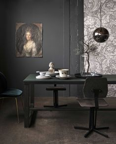 fotografie stan koolen styling marianne luning dark interiors, w This Old House, Houses Architecture, Interior Architecture, Dark Interiors, Wood Interiors, Medan, Art Nouveau, Art Deco, Masculine Interior