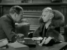 "Catch a video of Mae West's courtroom scene in ""I'm No Angel"" where she puts every man in his place and wins the admiration of the judge.  And while her sexuality is part of what charms les boys, the court scene shows she's got big brains under the platinum hair.   #burlesque #film #history #MaeWest Check out our #NeoBurlesque #documentary #BurlesqueAReemergence #burlesquemovie"
