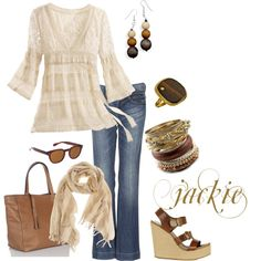 Some casual day fun, created by jackijons.polyvore.com