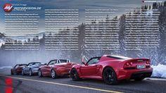 MOTORVISION e-Paper TITEL-TEST Lotus Exige S Roadster EXKLUSIV im Gruppentest