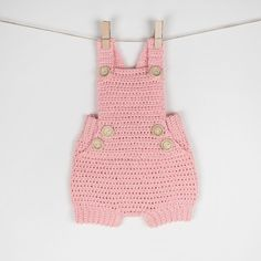 Crochet Baby Romper/Onesie Pure Happiness | Craftsy