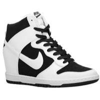 Nike Dunk Sky Hi - Women's - Black / White