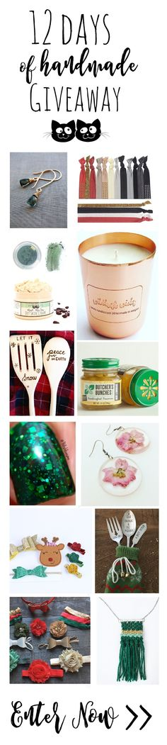 12 Days of Handmade Gift Guide & Giveaway — Moody Sisters Skincare