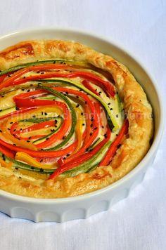 hiperica_lady_boheme_blog_cucina_ricette_gustose_facili_veloci_quiche_estiva_con_peperoni_e_zucchine_1