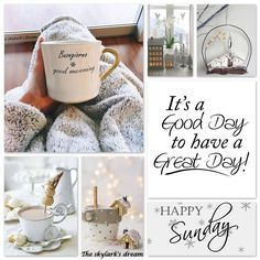Pin by cute homes on shabby vintage коллаж, вдохновение Sunday Wishes, Happy Sunday Quotes, Weekend Quotes, Good Morning Greetings, Good Morning Quotes, Morning Humor, Sunday Coffee, Good Morning Coffee, Morning Wish
