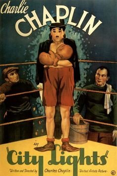 City Lights. Charlie Chaplin movie.