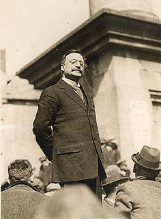 10 July 1922 - Arthur Griffith, journalist and politician. He died just one month after this photo was taken.