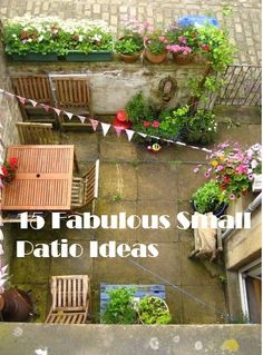 pinterest the worlds catalog of ideas - Pinterest Small Patio Ideas