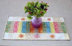 Free Quilt Pattern: Sherbet Stripes
