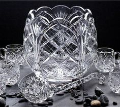 A Mother's Words From Beyond! The Message About The Crystal Punch Bowl. Click picture for article