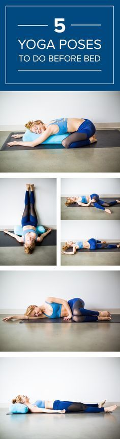 Try doing these bedtime yoga poses regularly. This routine is so simple to follow and will help you wind down.