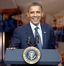 Ladies & Gentlemen...The Next President Of The United States: Mr. Barack Hussein Obama