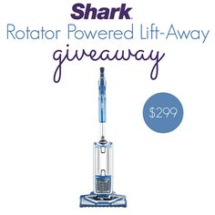 Welcome to the Shark Rotator Powered Lift-Away Speed Giveaway, hosted by Thrifty Nifty Mommy and Viva Veltoro and sponsored by Shark. Are you in the market for a new vacuum cleaner? Shark Vacuum, Perfect Timing, Kids House, Giveaways, Cleaning, Nifty, Winner Winner, Continue Reading, Household