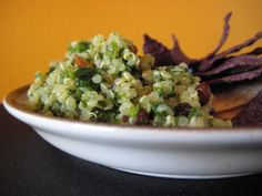 Quinoa Tabouli....this is very good and gluten free!
