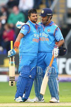 Suresh Raina and Dhoni partnership