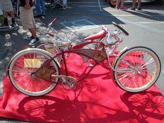 Red Lowrider Bike