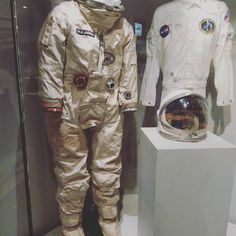 Gemini suit at the Mariners' Museum. Gemini, Military Jacket, Museum, Moon, Suits, Fall, Jackets, Fashion, Autumn