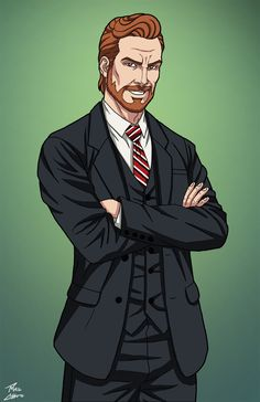 Walter Peck (Earth-27) commission by phil-cho on DeviantArt
