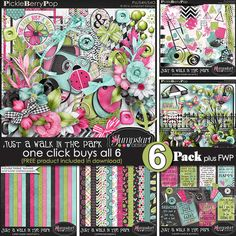 Just a Walk in the Park ~ 6-Pack plus FWP {by Jumpstart Designs}