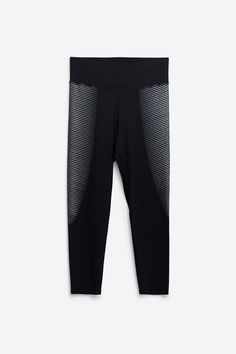 This Is The Big Zara Debut You've Been Waiting For Zara Cropped Leggings, $29.90, available at Zara....